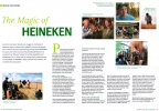 Behind the Scenes Article on The Magic of Heineken