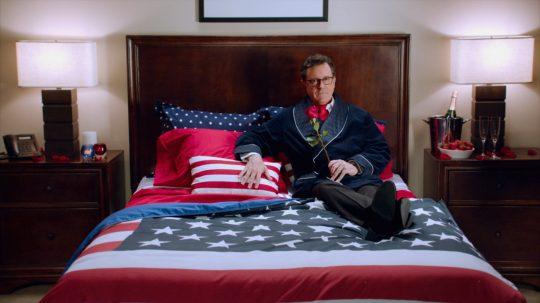 Stephen Colbert Hotel Room
