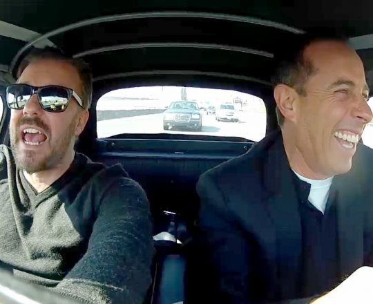 Comedians in Cars Ricky Gervais Excerpt